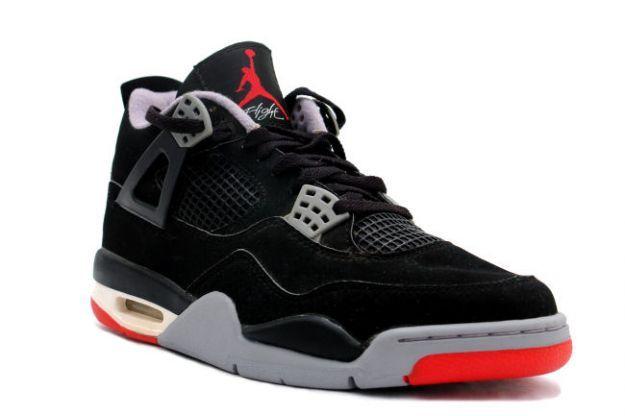 Air Jordan 4 (IV) Retro 1999 - Black / Cement Grey (With images