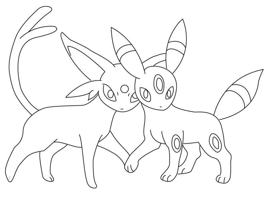 umbreon pokemon Colouring Pages | Pokemon | Pokemon ...