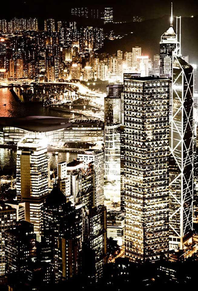 Hong Kong City View By Night Magic Views Of Hong Kong Merci Oiseau Pour Le Partage Ovolo Hotel Hongkong H Hong Kong Night Places In Hong Kong Hong Kong