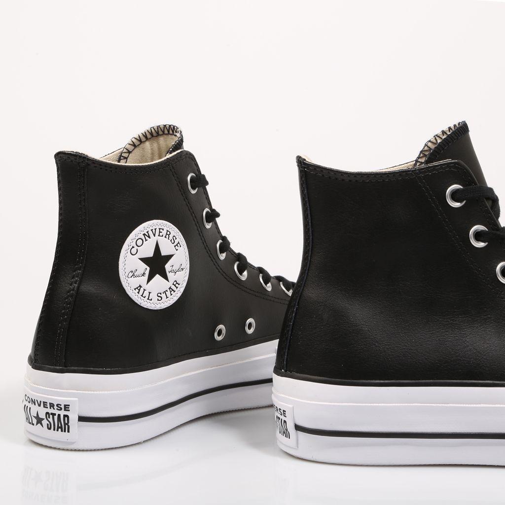 entrada Previamente Derechos de autor  Converse Plataforma Negras | Zapatos converse de mujer, Zapatillas converse,  Converse plataforma