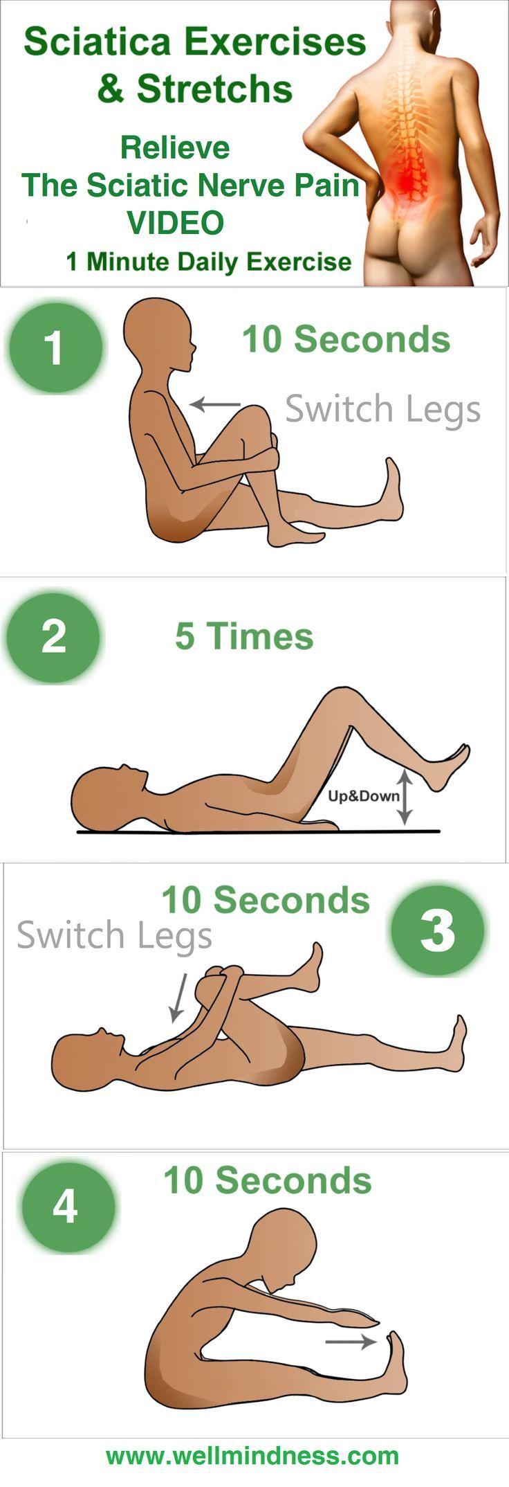Para la ciatica imagenes ejercicios