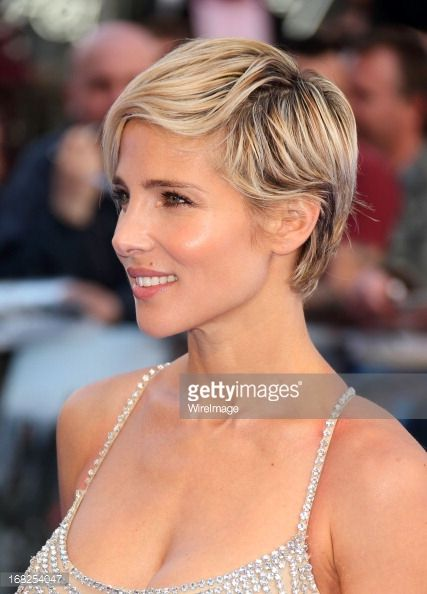 Hairstyles For Short Hair Fast : Elsa pataky short hair fast & furious 6 world premiere red