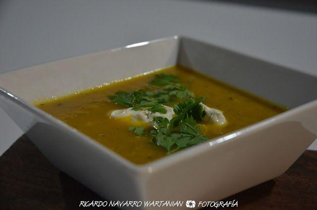 Sopa de Zanahorias y Cilantro con Comino y Naranjas