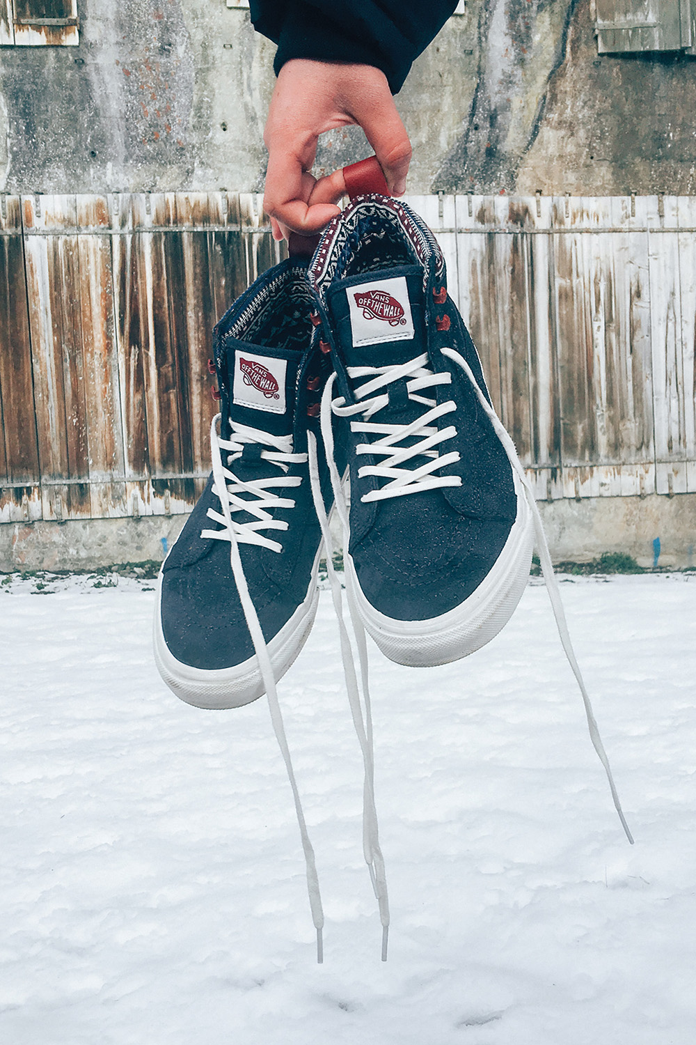 Pump up your winter wardrobe in the All-Weather Vans Sk8-Hi MTE in Parisian  Night Blanc De Blanc. Shop these and more winter-ready ... b2638f5b5