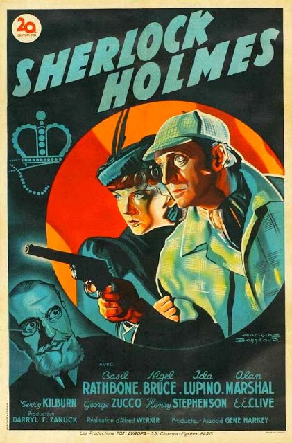 Fabulous Vintage Sherlock Movie Posters