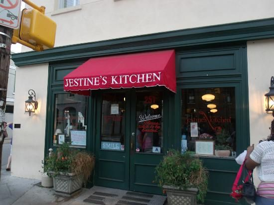 Jestine S Kitchen Charleston Sc Named After An African