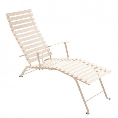 Fermob Bistro Chaise Longue With Arms Outdoor Chairs Outdoor Garden Furniture Fermob