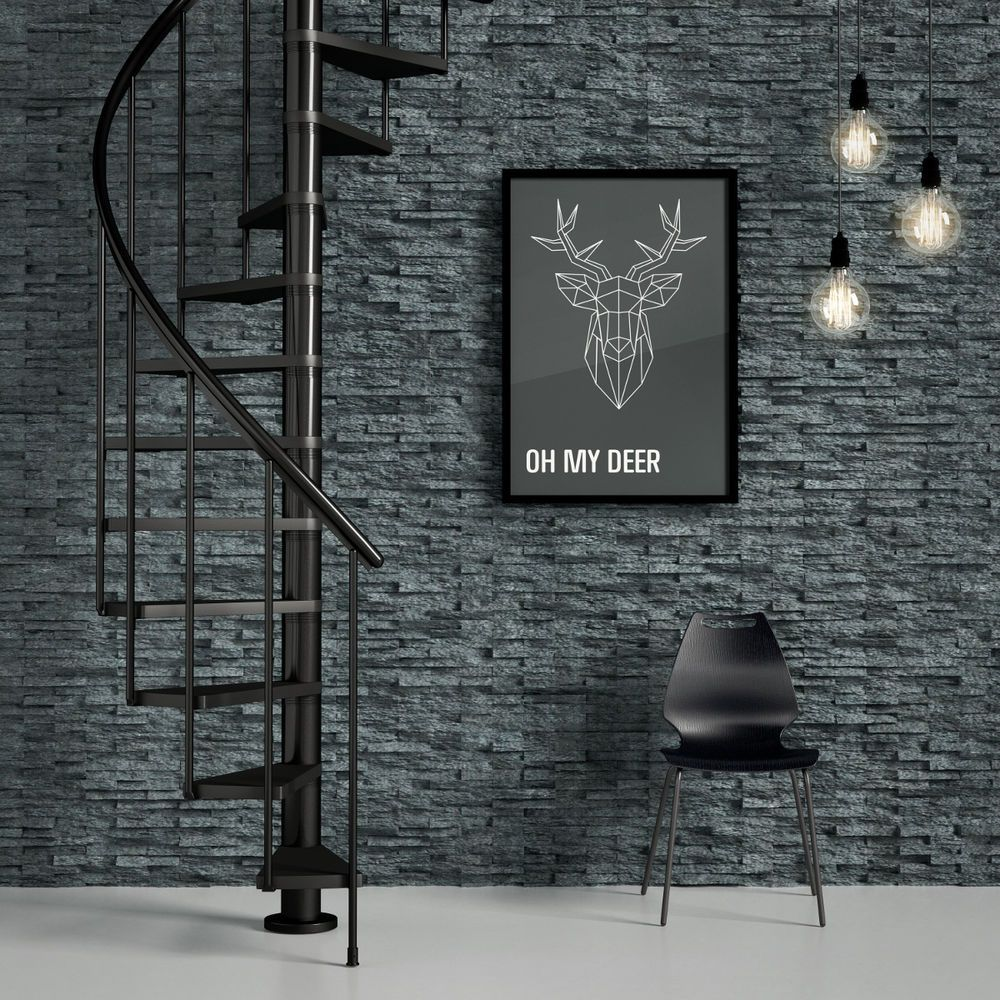 Details About Dolle Calgary Loft Spiral Staircase Stairs | Dolle Calgary Spiral Staircase