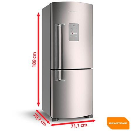 Imagem para Refrigerador 2 Portas Brastemp Ative, 422L - BRE50NR a partir de Fast Shop