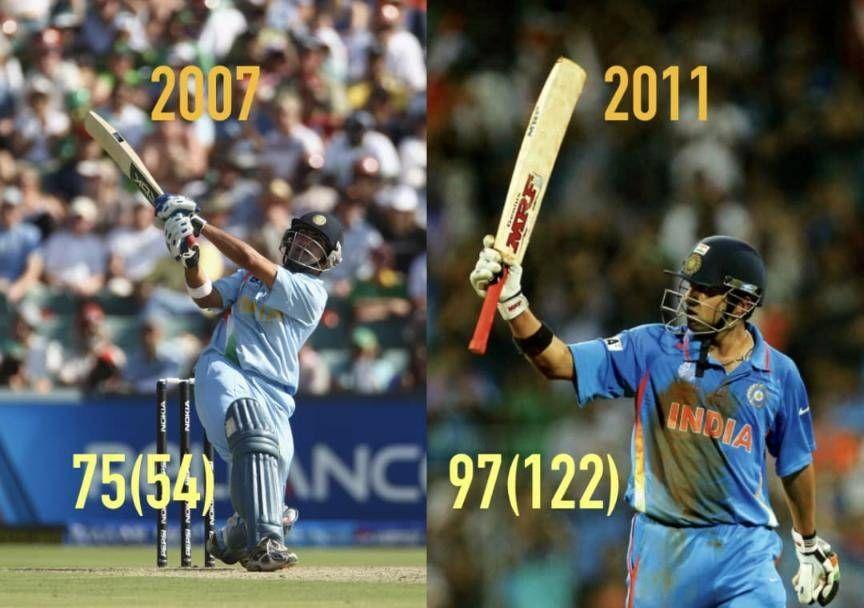 Gautam Gambhir Top Scored In India S 2007 And 2011 World Cup Finals Cricket Match Cricket Score Cricket