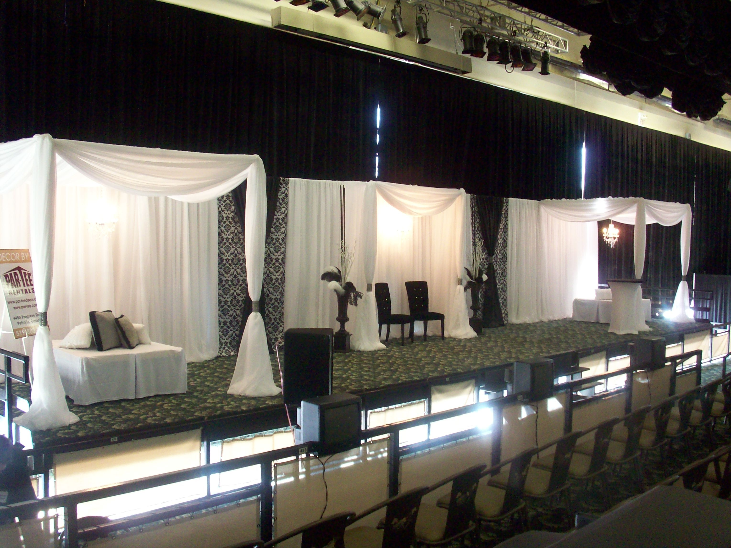 and drapes los rental drape angeles img orange draping colors county in pipe