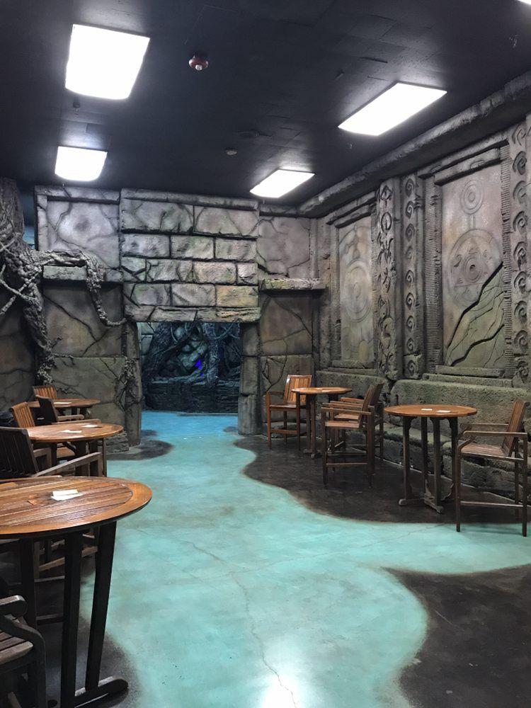 Home The Sanctuary Okc Halloween Haunted Houses Lobby Design Escape Room
