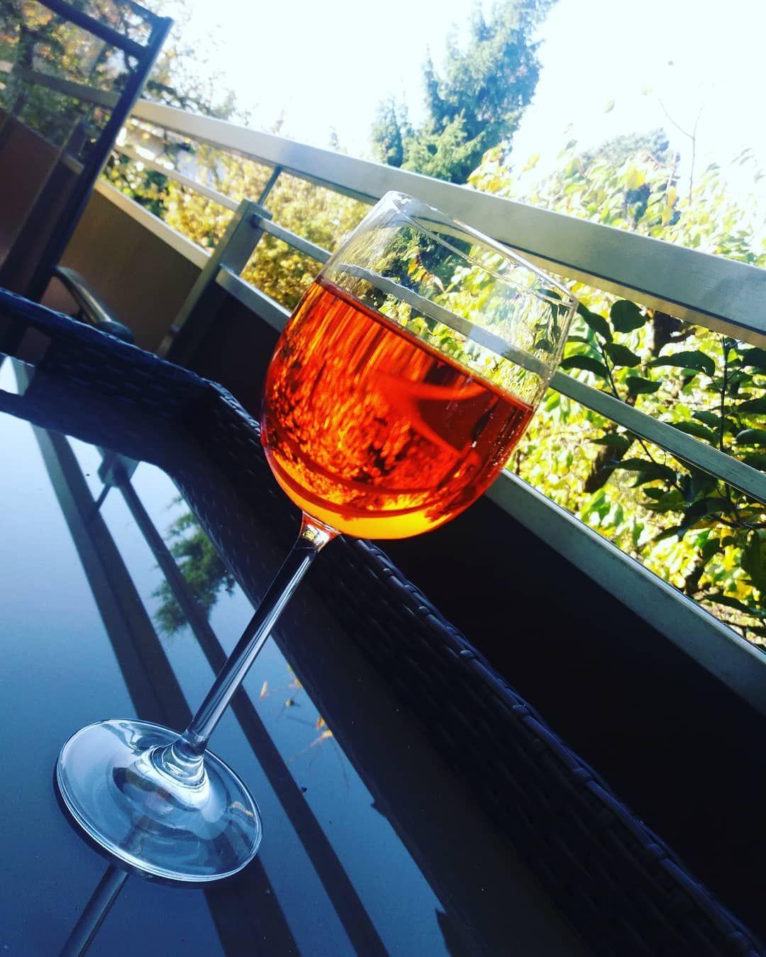 Feiertag Aperoltime Aperolspritz Relax Autumnvibes Austria Casa Alcoholic Drinks Alcohol Glass