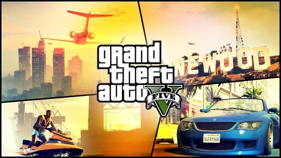 This is grand theft auto superhit game  | Games | Gta v 5