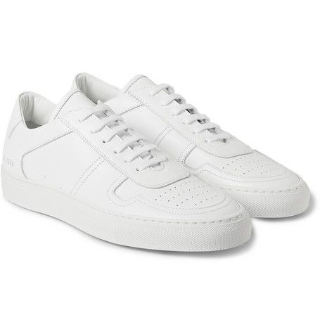 23b5243ef74d Common Projects  white leather  BBall Low