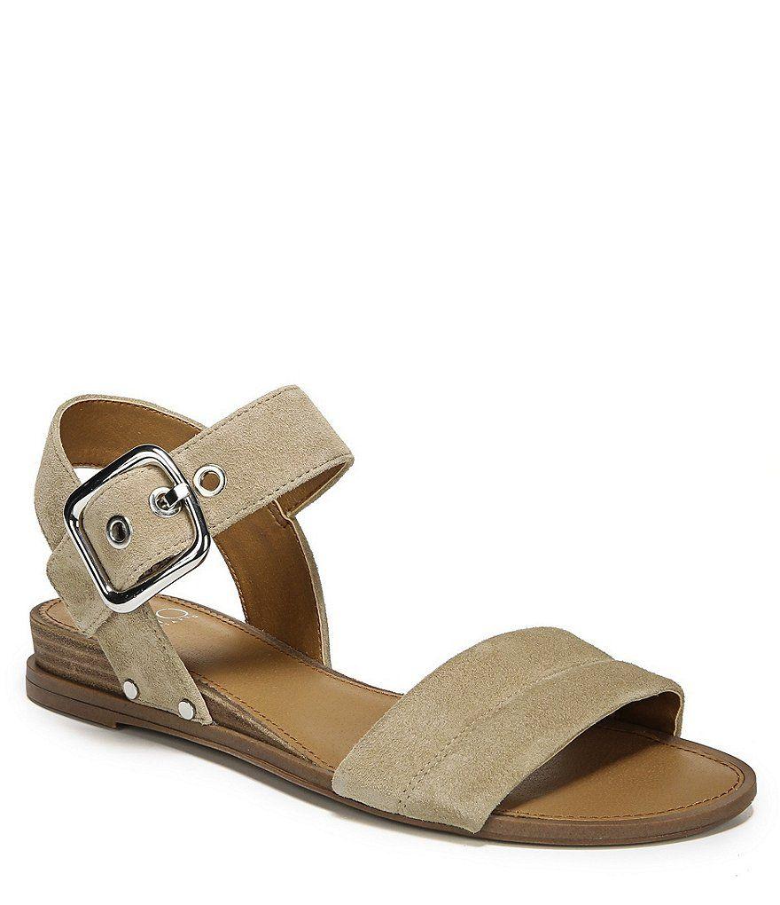 73c14de0f7b Franco Sarto Lorelia Ankle Strap Block Heel Sandals
