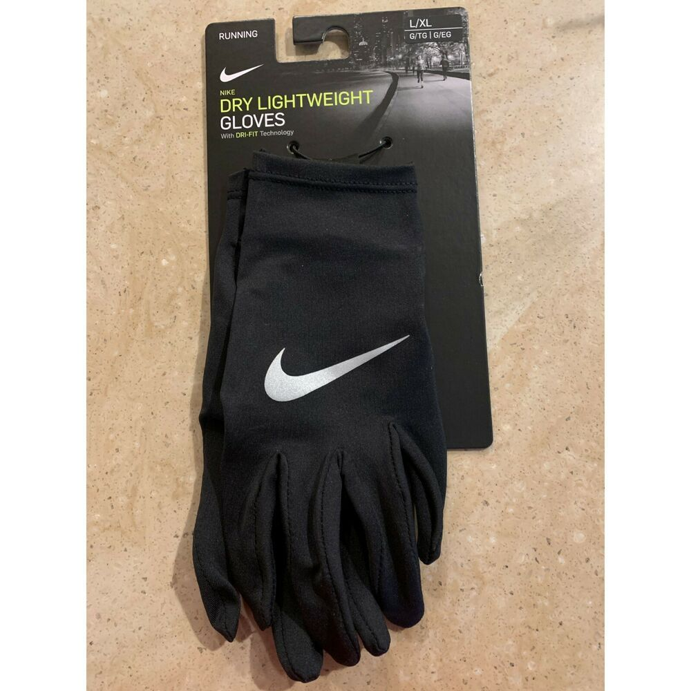 Ad Ebay Nike Dri Fit Lightweight Dry Running Gloves Mens Womens Unisex Size Large Xl Running Gloves Gloves Nike Dri Fit
