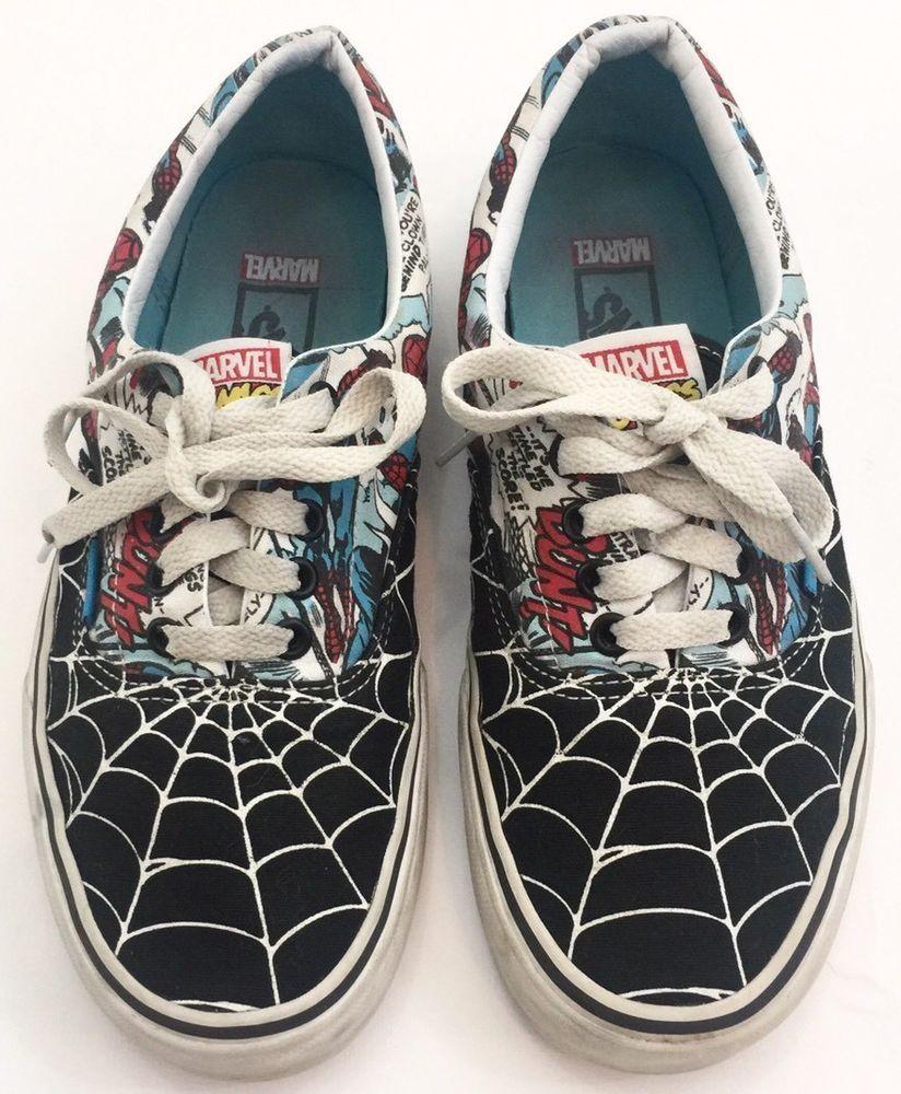 0d6e502c0cc1bf Vans Marvel Comics Limited Edition Spider Man Vans Men s Sz 7.5 ...