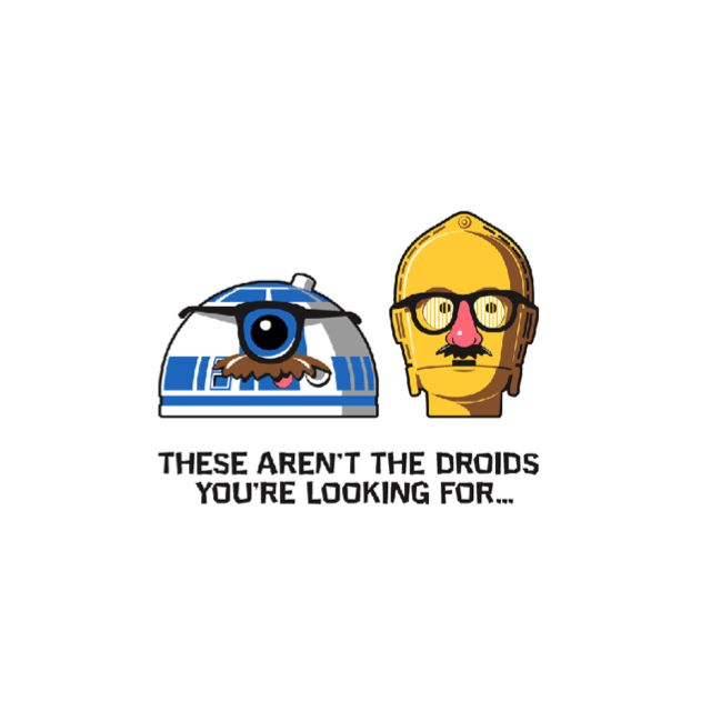 Definitely not the droids you're looking for. Maybe.