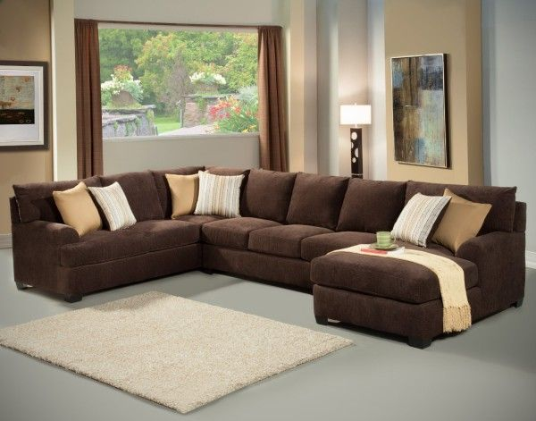 Beautiful Microfiber Sectional Sleeper Sofa Interior Design
