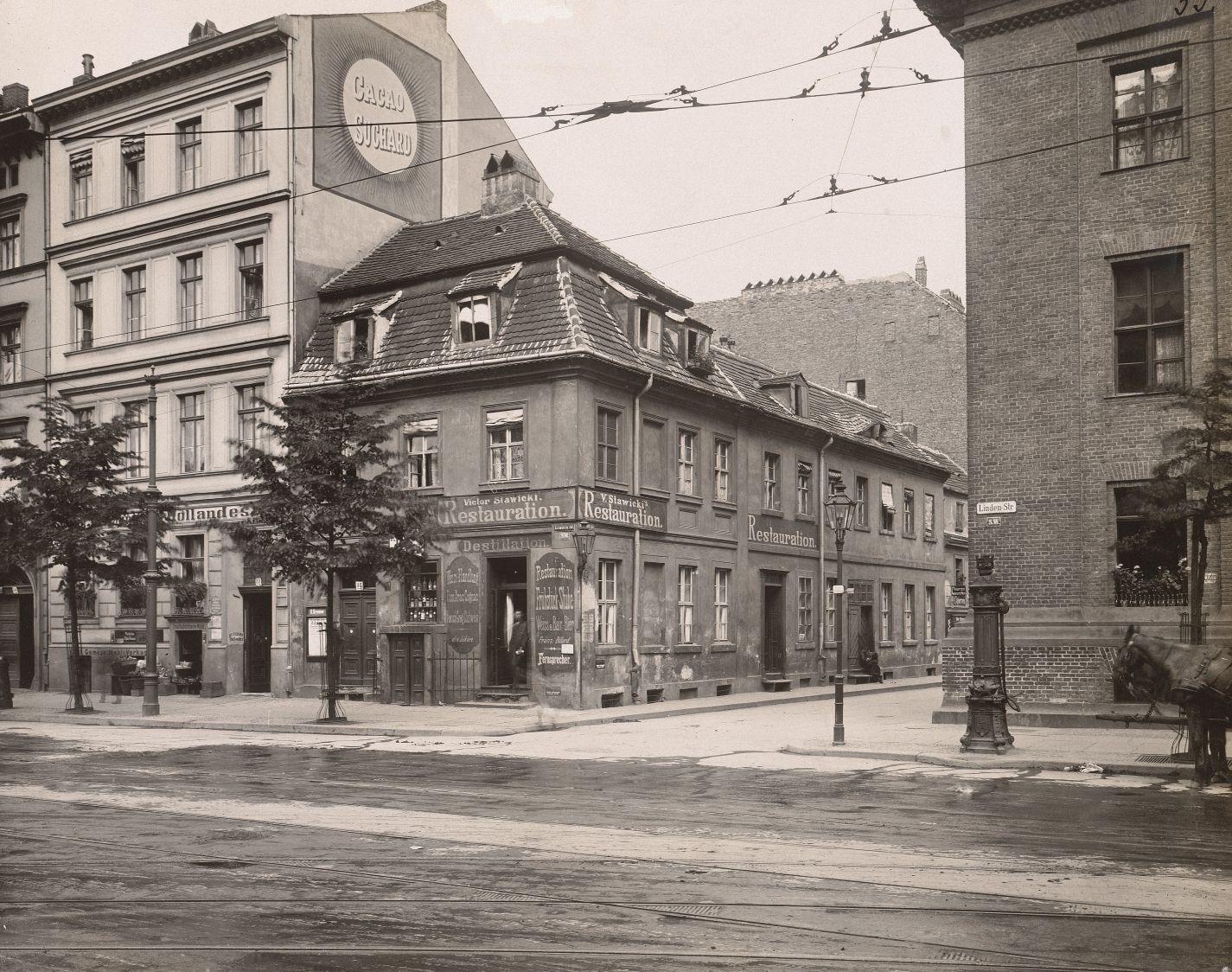 n n wohnhaus lindenstra e 32 berlin kreuzberg aus julius kohte alt berlin bauwerke in. Black Bedroom Furniture Sets. Home Design Ideas