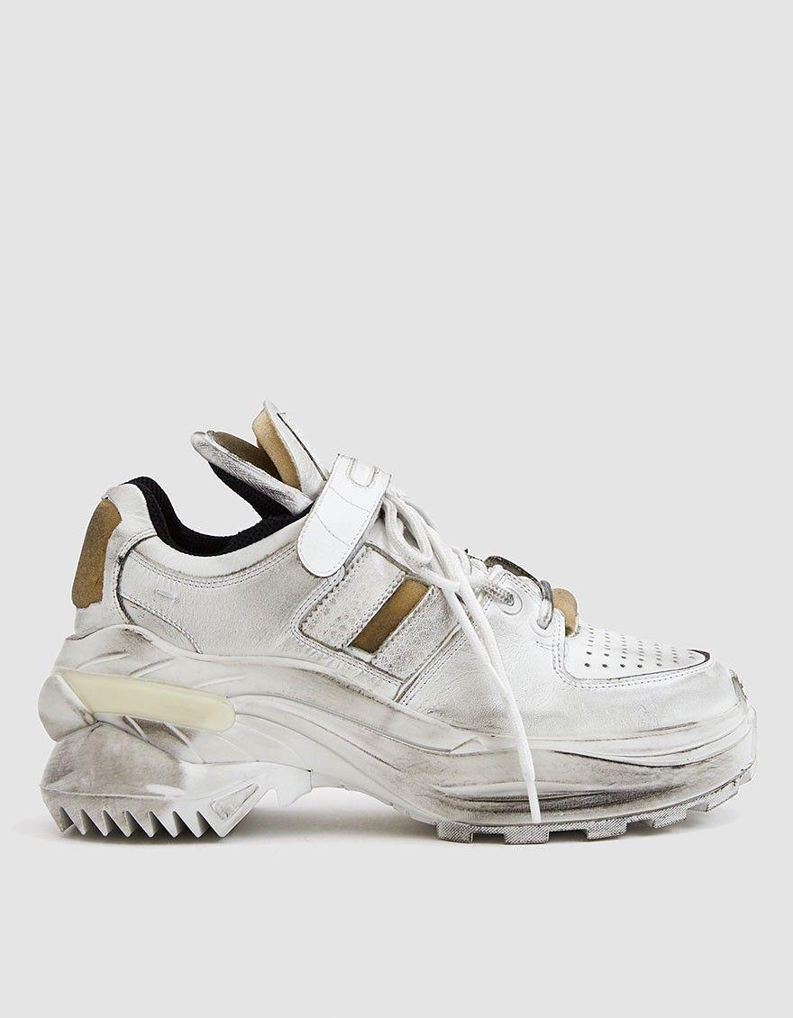 White Margiela SneakerThreads Chunky Sneakers Maison WD9EHI2