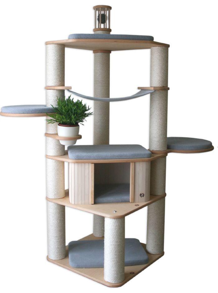 Gorgeous Hagen Vesper V Tower Modern Cat Tree Furniture Review ...