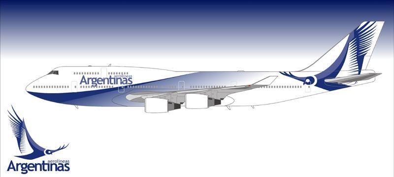Aerolineas Argentinas Aviation Boeing 747 400 Boeing 747