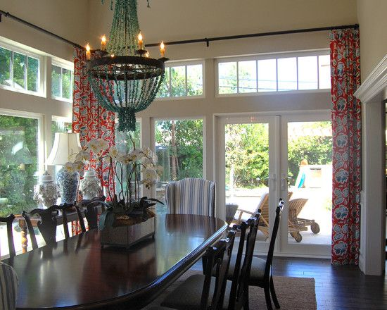 charming french door curtain rod designs tropical dining room doors again for the great room