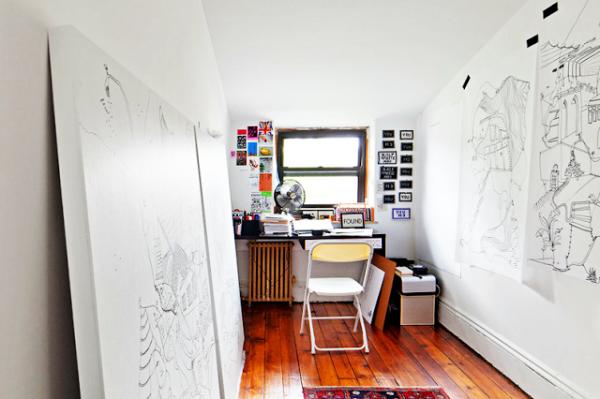 Artists studios - Shantell Martin