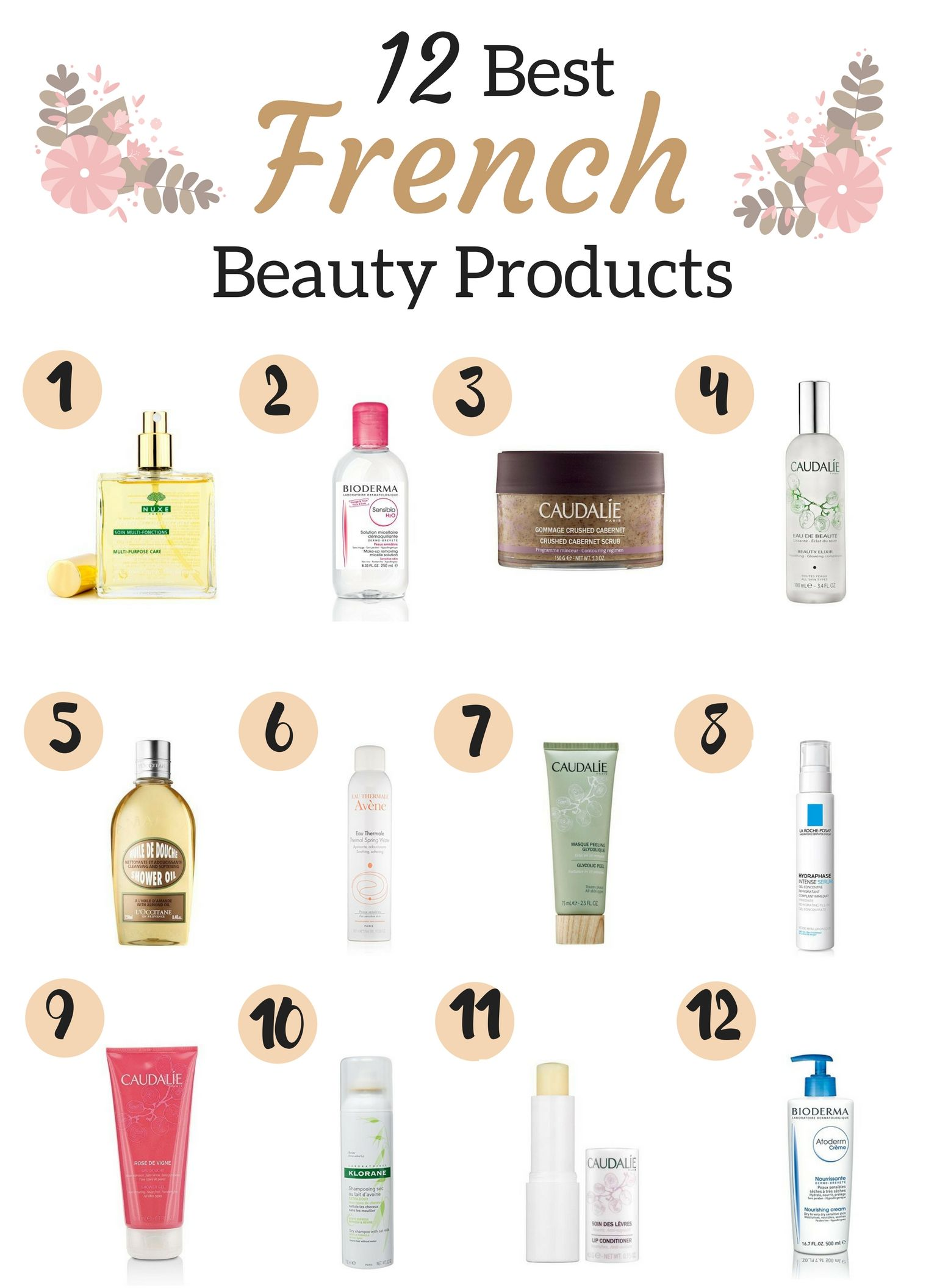beauty products to buy in france