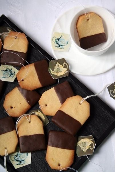 Now this would cheer my cup of tea/shortbread cookies dipped in chocolate