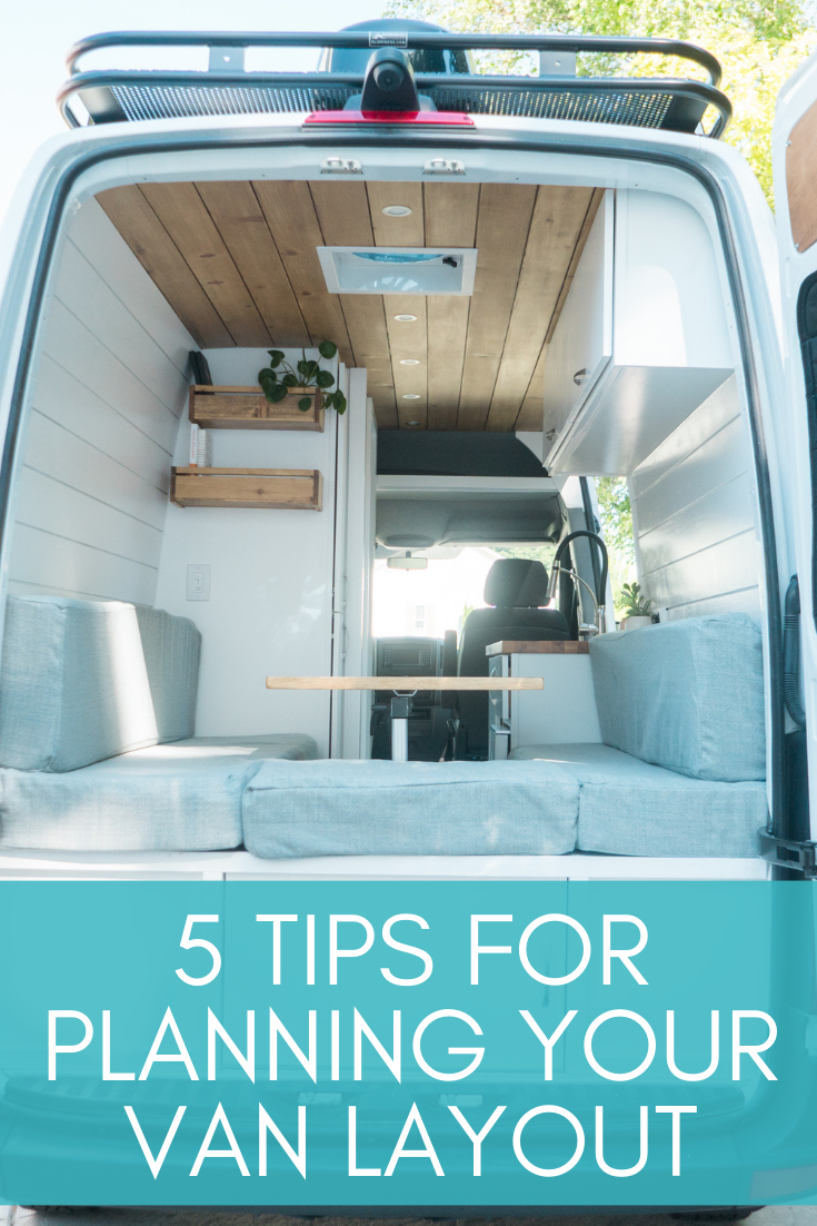 Photo of 5 Tips For Planning Your Van Layout — Sara & Alex James – 40 Hours of Freedom