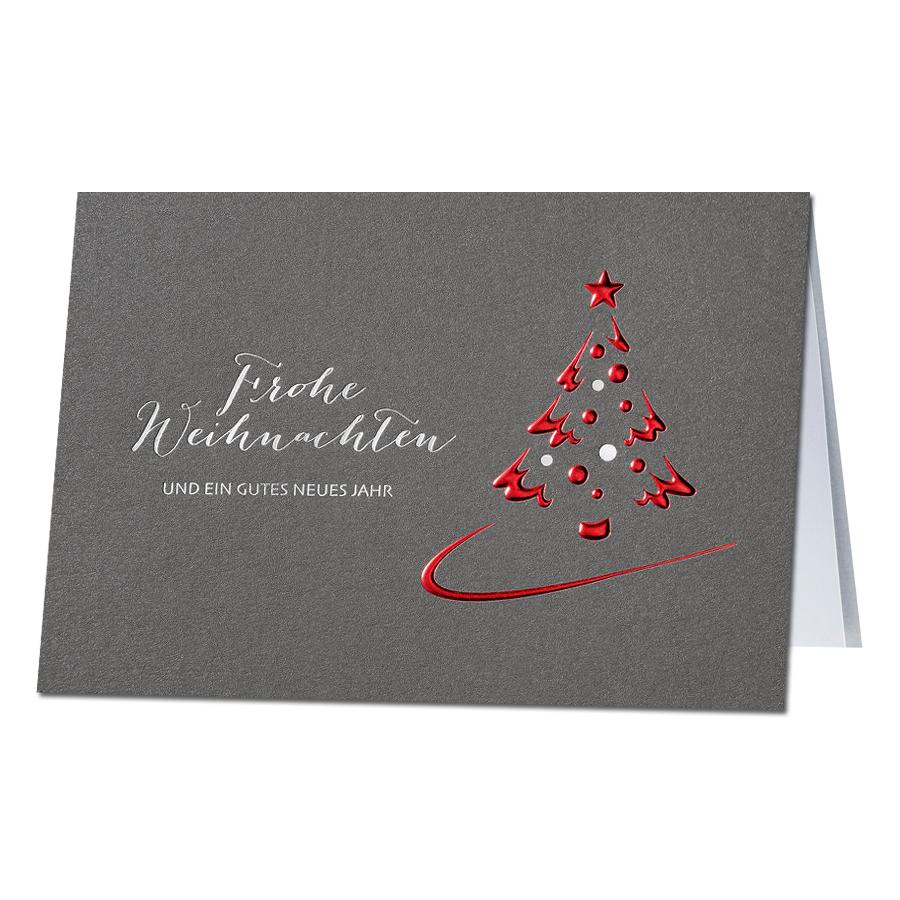 Blickfang Edle Weihnachtskarten Basteln Dekoration Von Geschäftliche Weihnachtsgrüße Im Edlen Design Neutural Bestellen