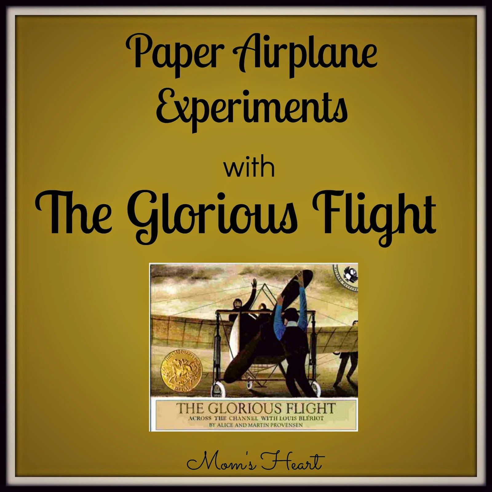 The Glorious Flight And Paper Airplane Experiments