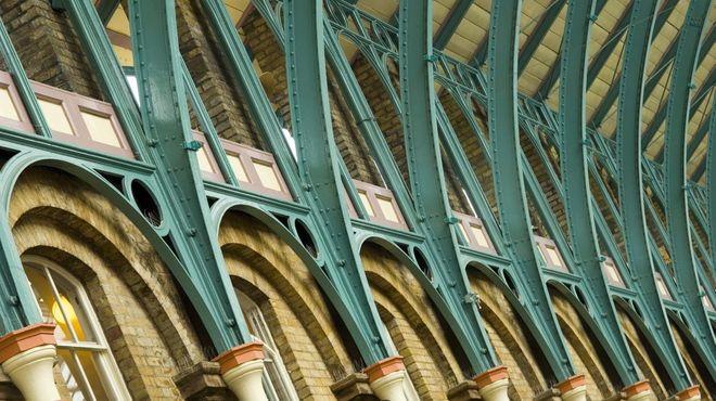Covent Garden Market | Fibreglass roof, Roof architecture ...