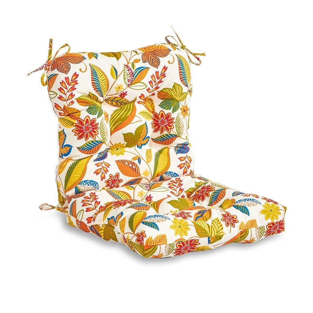 Outdoor Seat And Back Cushions Outdoor dining chair