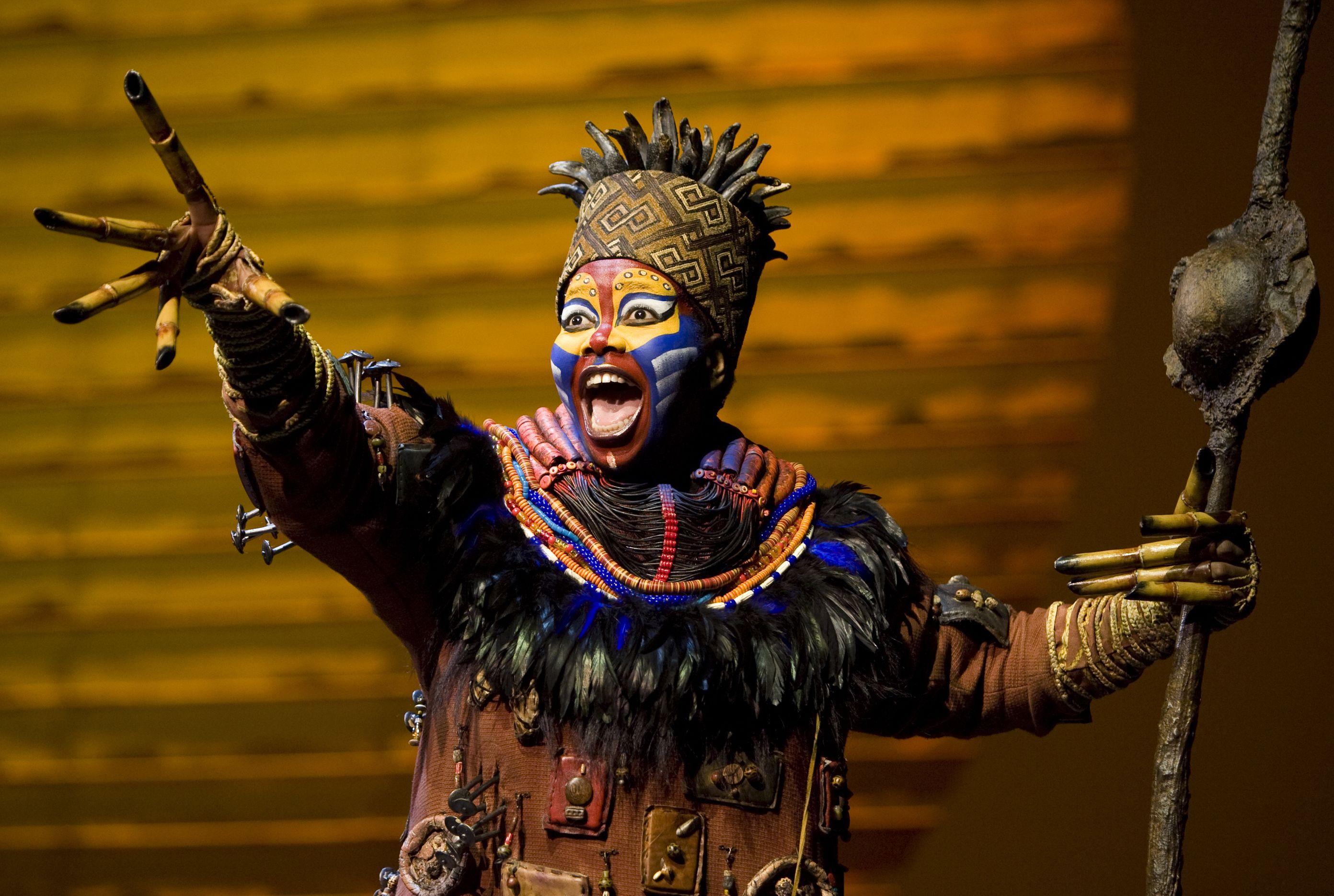 Resultado de imagen para lion king musical