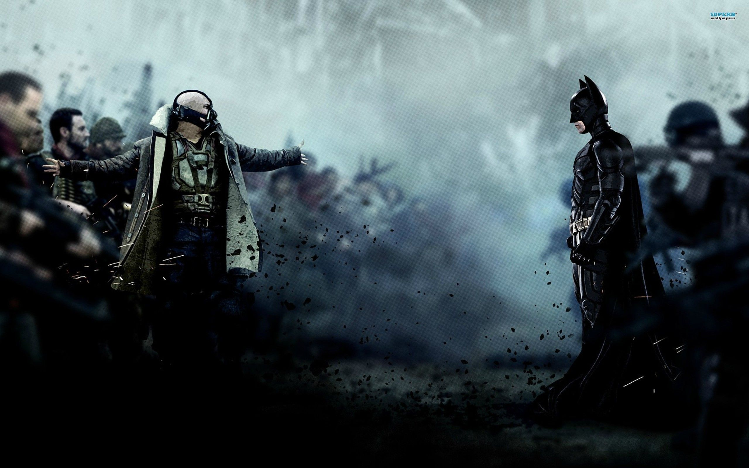 Batman Drawn Bane Batman The Dark Knight Rises Wallpaper