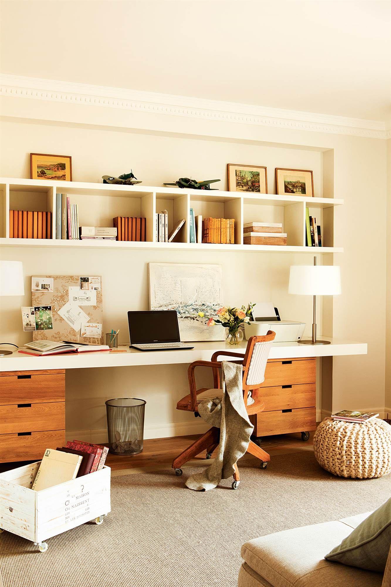 Sala de estudio en casa