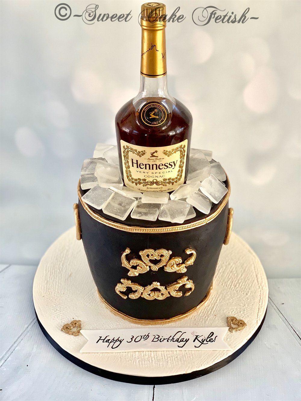 Hennessy cake birthday cake for him hennessy cake cake