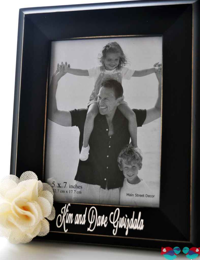Personalized Couple Frame Tutorial | Personalized picture ...