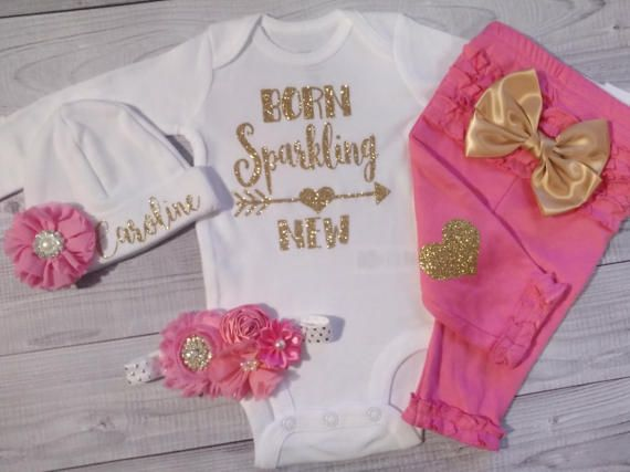 Baby Girl Coming Home Outfit Newborn Baby Take Home Outfit