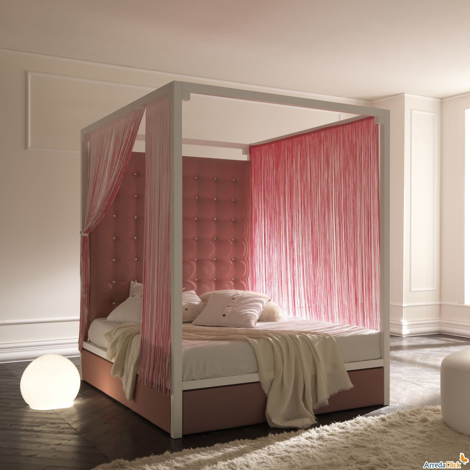 pink canopy bed. you sexy thing! | bedroom ideas | pinterest