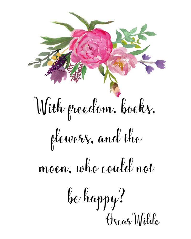 Printable Art Literary Quote Download Print And Frame This Popular