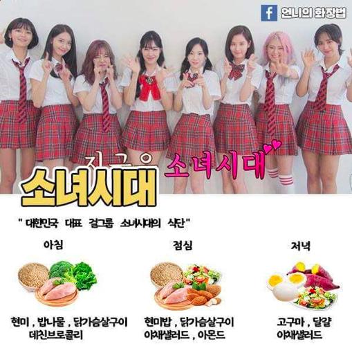 Kpop Idol Diat Kpop Diet Diet Meal Plans Korean Diet