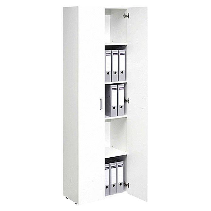Details zu Multifunktional Einsetzbarer Allrounder Zwei Türen Weiß