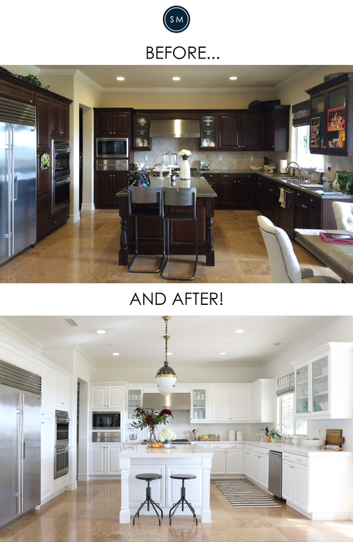 San Clemente Kitchen Makeover Before/After | Designs, Deko und Häuschen