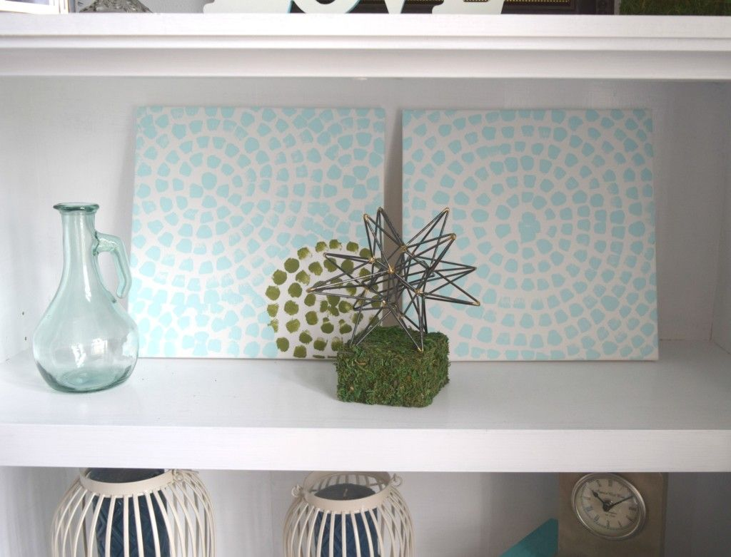Garden decor craft ideas  Spring home tour   Shelves Home and Spring