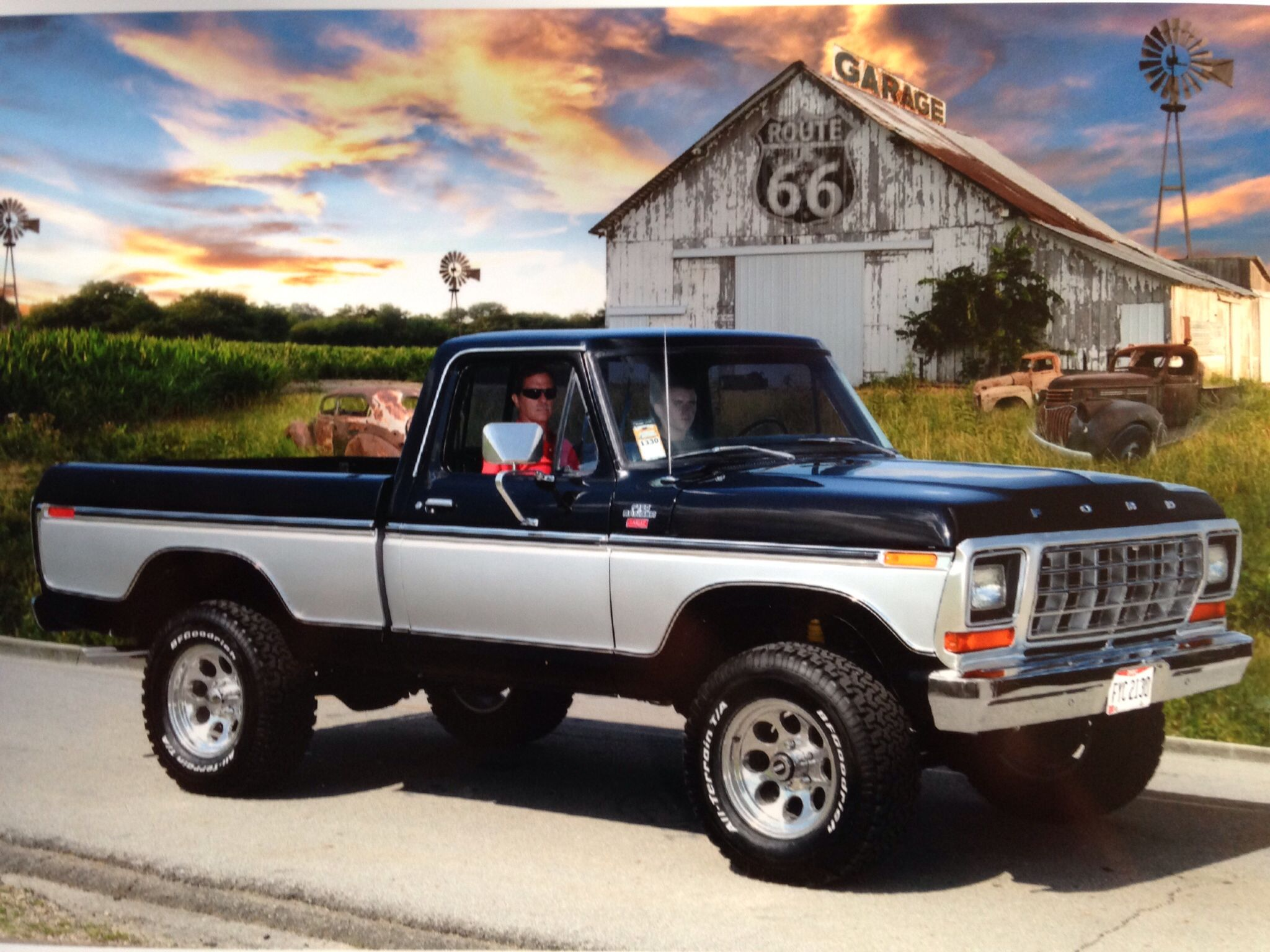 1978 ford f150 hubby and i had one when we got married